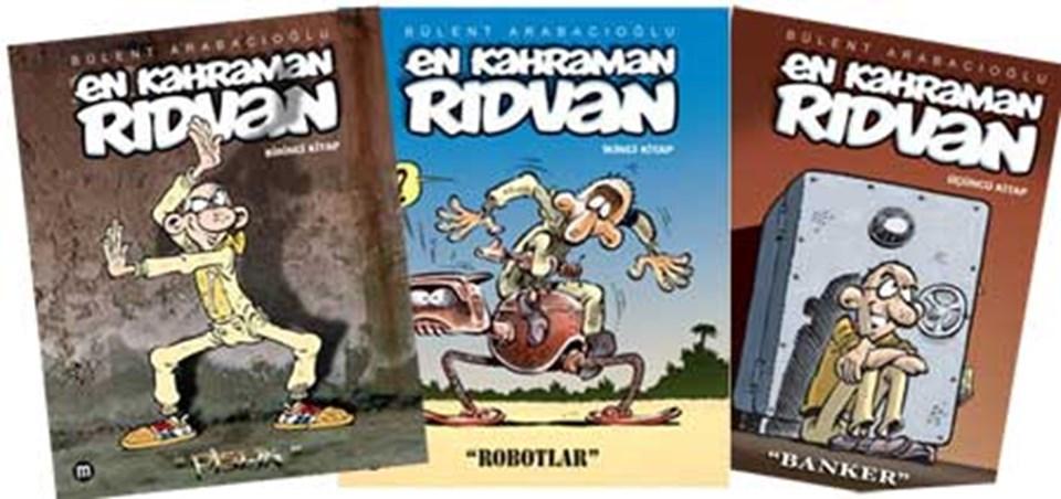 En Kahraman Rıdvan, Mürekkep Yayınları tarafından kitaplaştırıldı, serinin dördüncü kitabıönümüzdeki günlerde yayımlanacak.