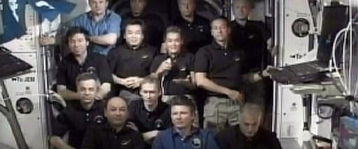 Endeavour Uzay İstasyonu'ndan ayrıldı