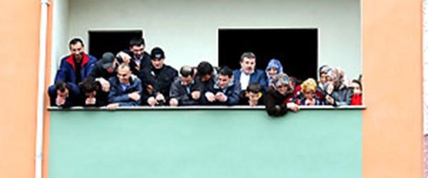Erdoğan 'balkon'da konuştu