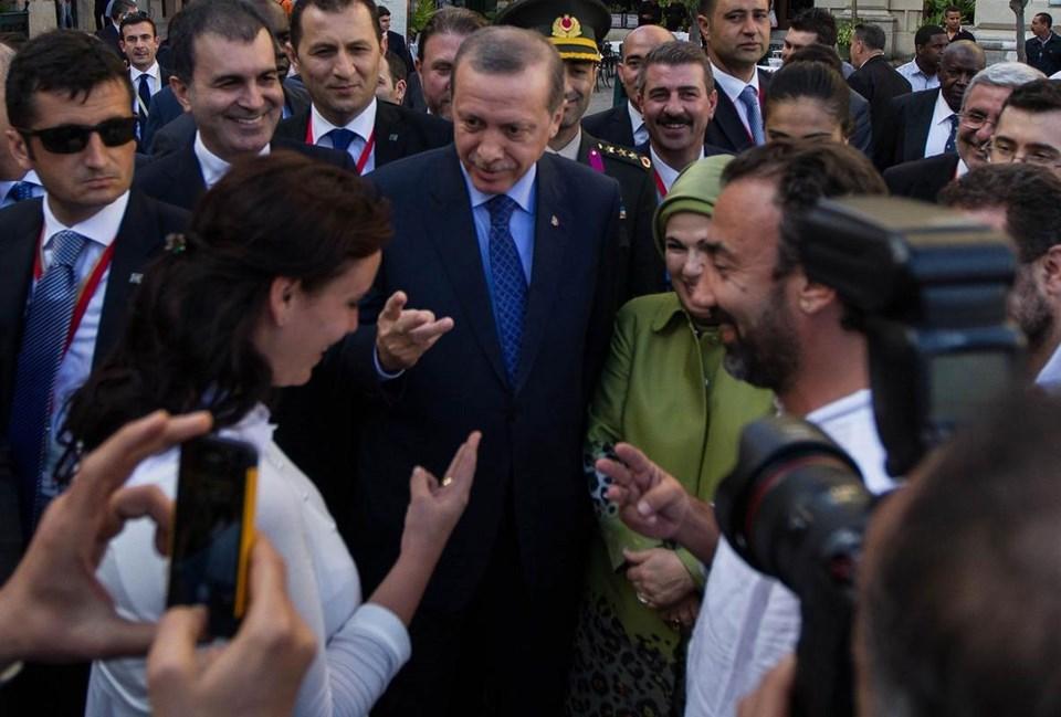 Erdoğan'ın çocuk sorusuna yanıt parmaklarlaverildi