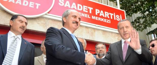 Erdoğan köşke, Kurtulmuş AK Parti'nin başına