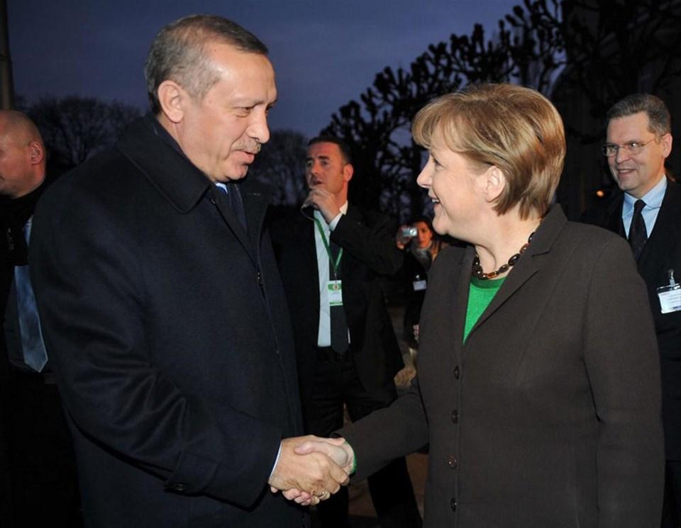Erdoğan - Merkel buluşması