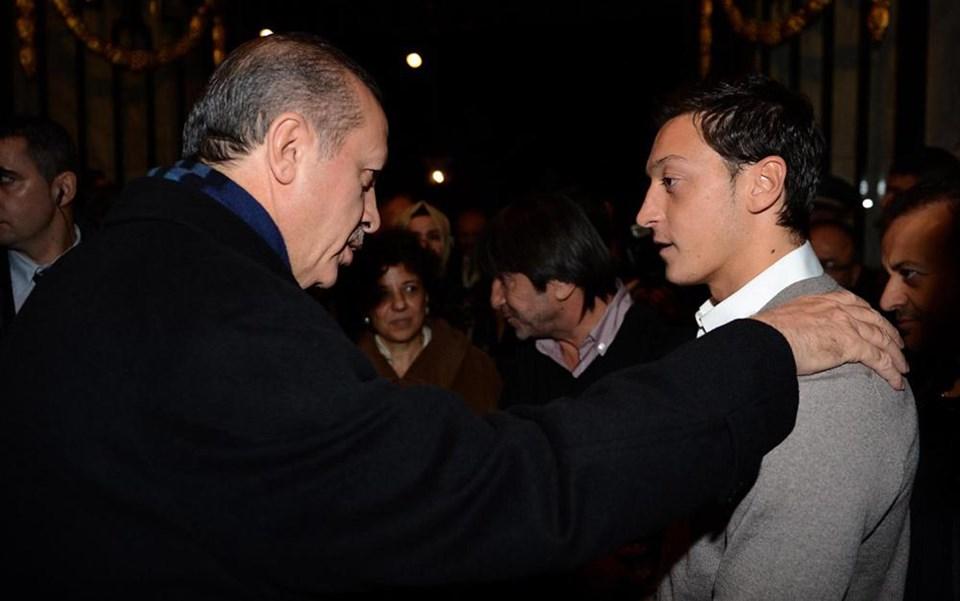 Erdoğan - Mesut Özil buluşması