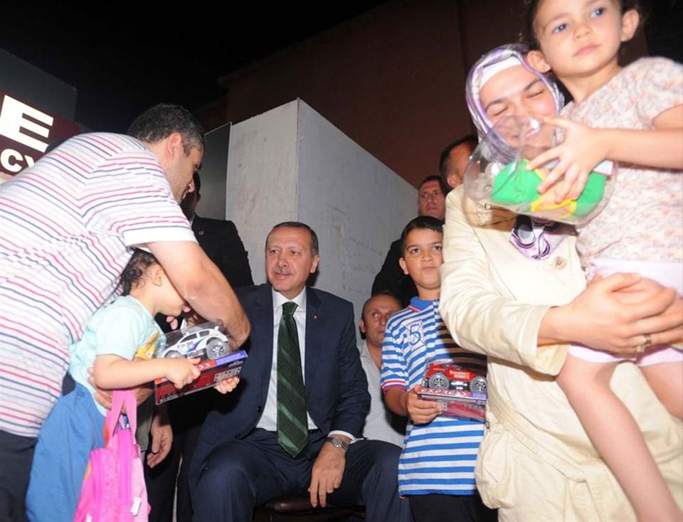 Erdoğan 'Meydan'a indi