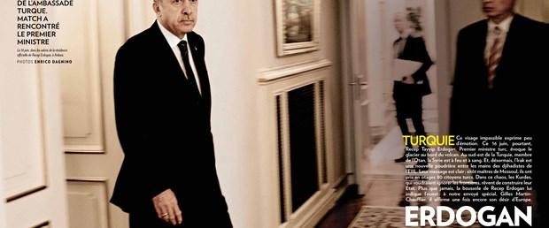 Erdoğan, Paris Match dergisine konuştu