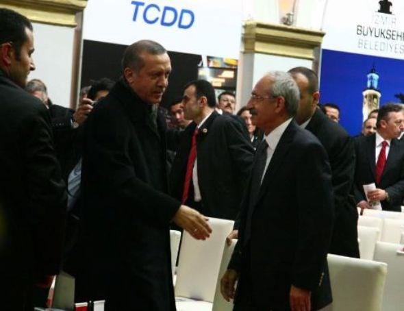 Erdoğan ve Kılıçdaroğlu aynı karede
