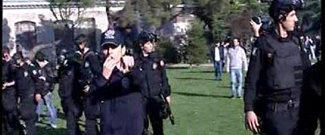Erdoğan'a Boğaziçi'nde protesto