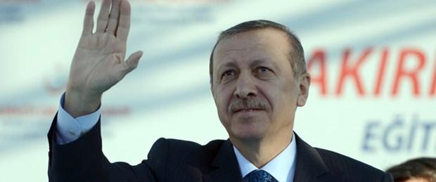 Erdoğan'dan havalimanında toplantı