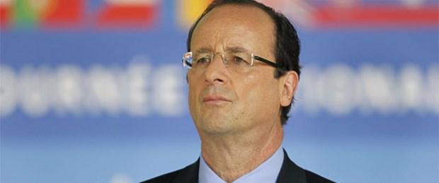 Erdoğan'dan Hollande'a tebrik telefonu
