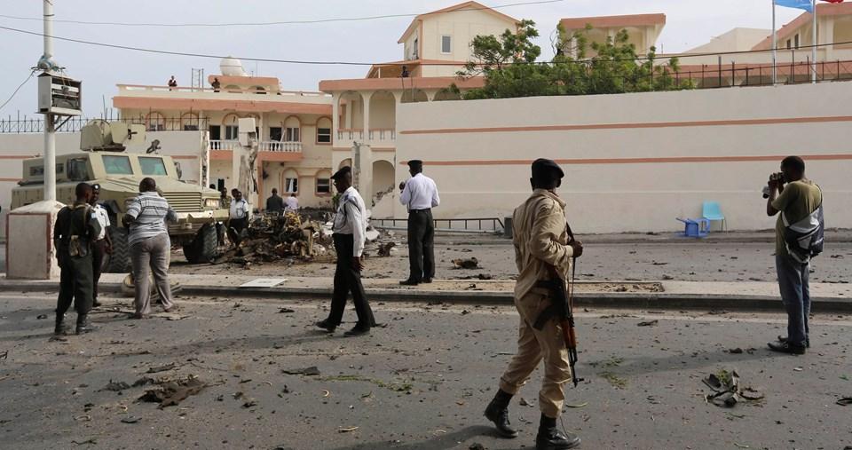 Saldırı sonrası ilk görüntüler.