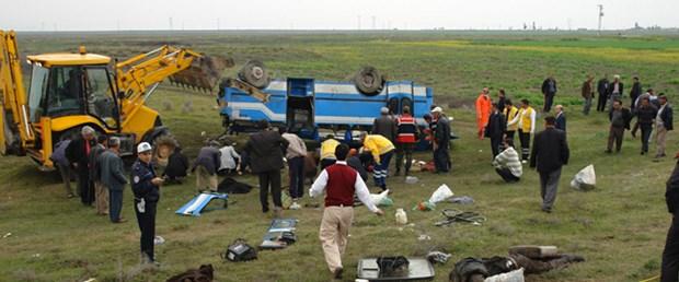 Ereğli'de otobüs devrildi: 6 ölü