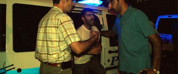Erzurum'da silahlı kavga: 2'si polis 4 yaralı