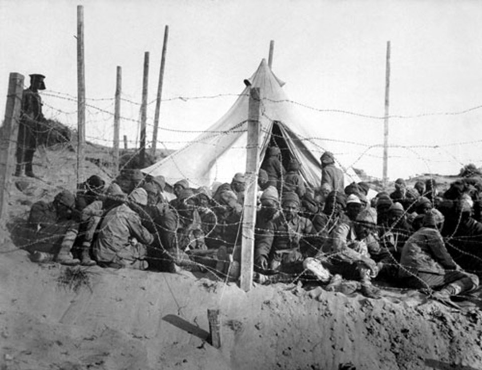 Çanakkale Cephesi'nde Türk askerleri