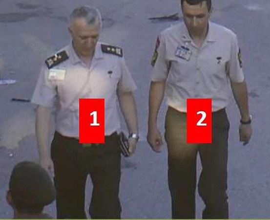 Eski Tümgeneral Baki Kavun, ertesi gün 18.37'de Genelkurmay Karargahı'ndan çıkarken