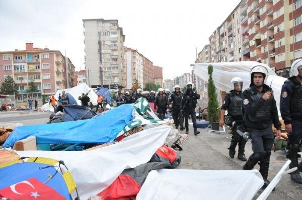Eskişehir'de polis müdahalesi