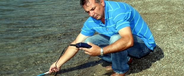 Eskişehir'de yapay plaj temiz