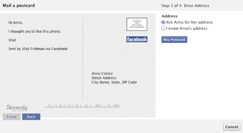 Как отправить открытку с днем рождения в фейсбуке, поздравление рамазан пробуждением