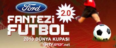 Fantezi Futbol oyna, Ford Fiesta kazan!