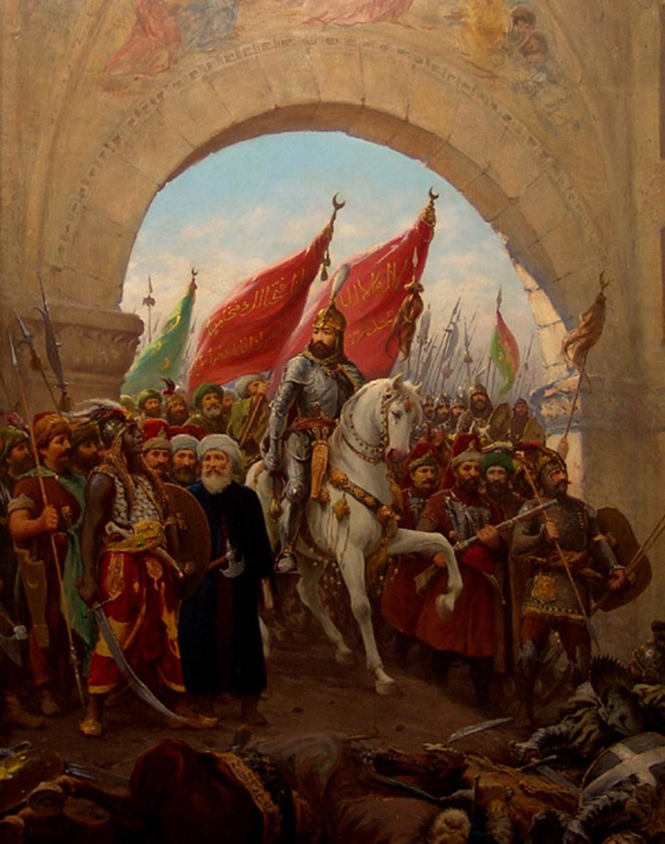Fatih'in İstanbul'a girişi