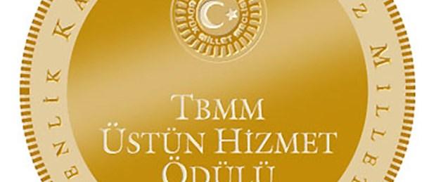 Ferit Şahenk'e TBMM Üstün Hizmet Ödülü