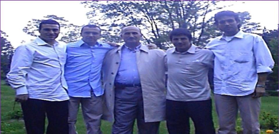 Hakan Ünsal, Arif Erdem Yusuf Bekmezci, Emre Belözoğlu, Ahmet Yıldırım (Soldan sağa)