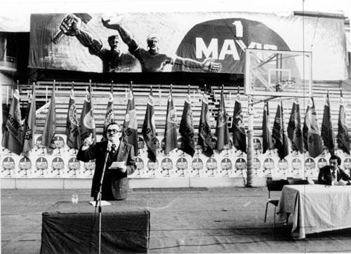 DİSK TOPLANTISI - 1 MAYIS 1977