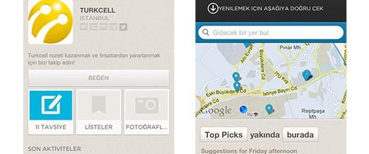 Foursquare artık Türkçe