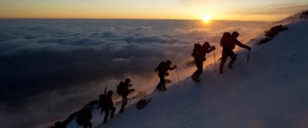 Fuji'ye tırmandılar