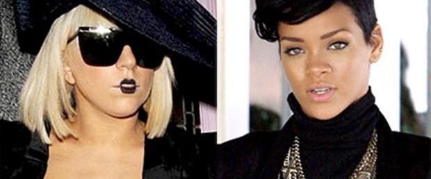 Gaga'ya kötü haber: Lider artık Rihanna
