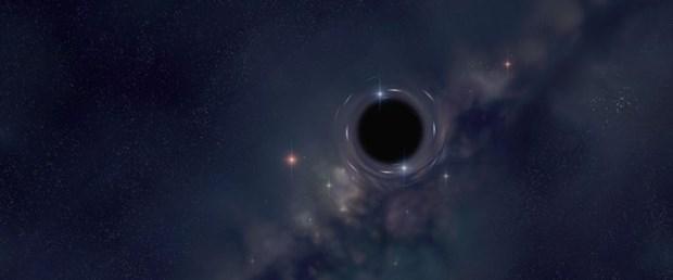 Galaksimizde kara delik var