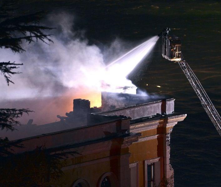 Galatasaray Üniversitesi'nde yangın
