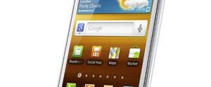 Galaxy S II 'beyaz'ladı