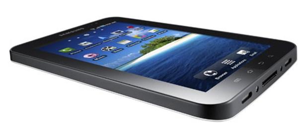 Galaxy Tab, iPad'e meydan okuyor