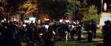 Gezi Parkı forumuna saldırı