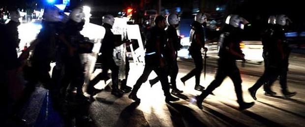 'Gezi' protestosunda 4 gözaltı