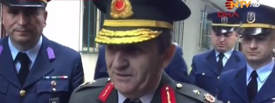 Jandarma Bölge Komutanı Tuğgeneral Mustafa Doğru