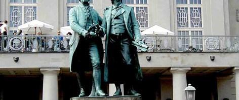 Goethe-Schiller arşivi yenileniyor