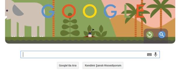 Google ilk paraşütle atlayışı doodle'la andı