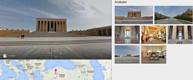 Google'dan Anıtkabir gezisi