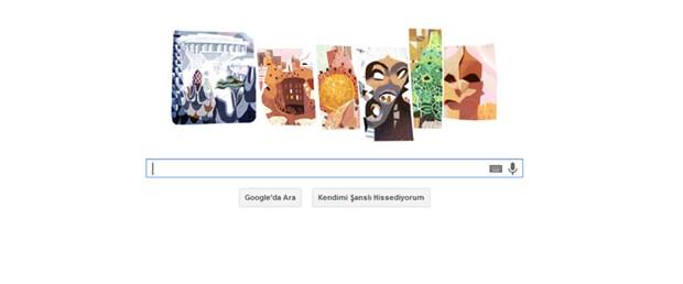 Google'dan Antoni Gaudi'ye özel doodle