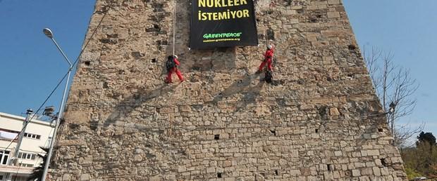 Greenpeace Sinop Kalesi'ni fethetti