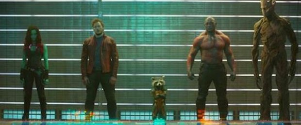 'Guardians of the Galaxy'den ilk kare