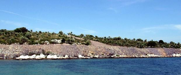 Güllük'te denize dolgu sezonu açıldı