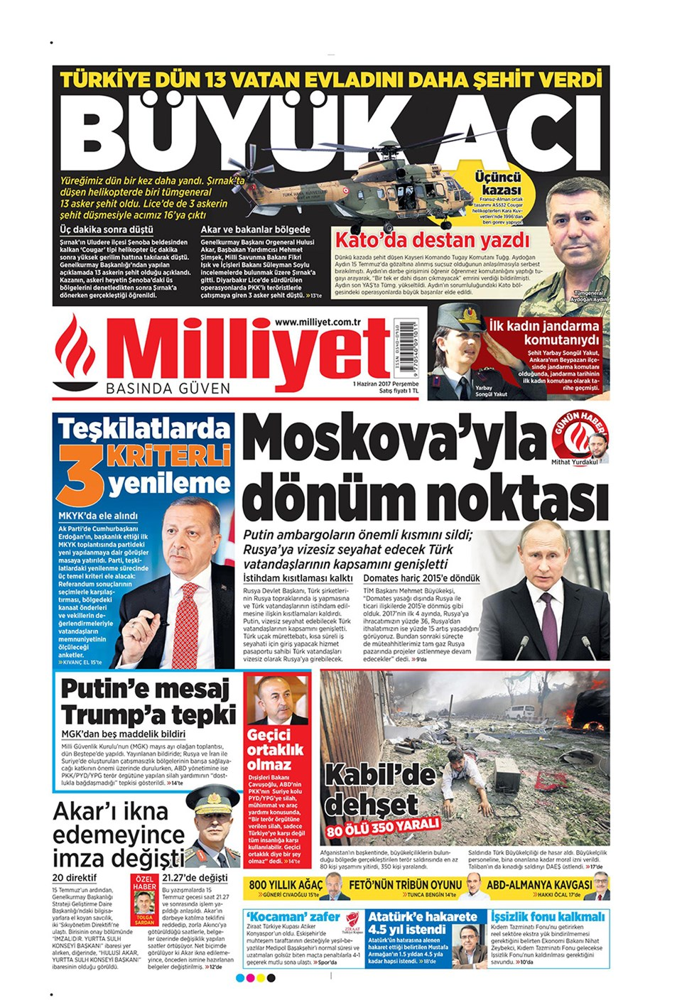 Gazeteler Günlük ve Ulusal Gazeteler Gazete Manşetleri