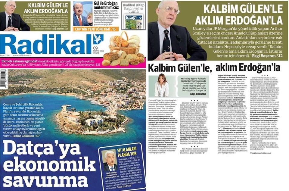 Günün gazete manşetleri - 9 Mayıs 2014