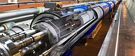 Hadron çarpıştırıcısı yeniden