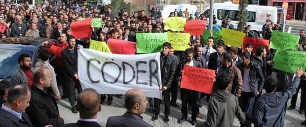 Hakkari'de 'cinsel istismar' protestosu
