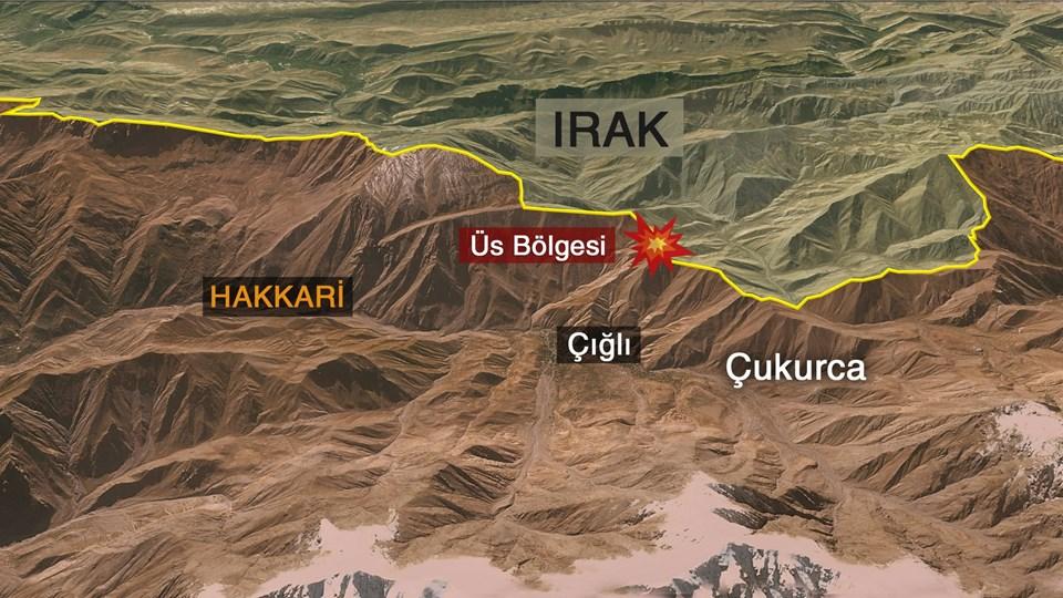 Hakkari'nin Çığlı bölgesi PKK'lıların Irak'tan Türkiye'ye geçiş noktası olarak biliniyor. Bölgede sık sık teröristlerle sıcak temas sağlanıyor.