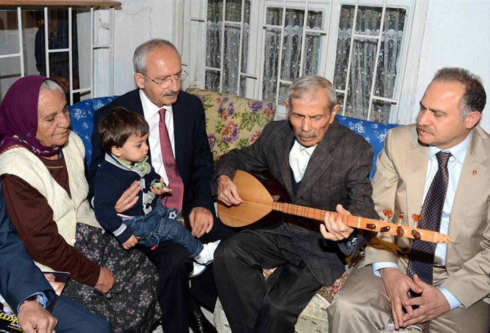 Halk ozanından Kılıçdaroğlu'na saz