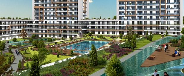 Halkalı'da yükselen yeni yaşam merkezi
